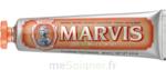 Marvis Orange Pâte Dentifrice Menthe Gingembre T/85ml à TOURS