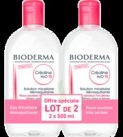 Crealine Ts H2o Solution Micellaire Sans Parfum Nettoyante Apaisante 2fl/500ml à TOURS
