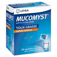 Mucomyst 200 Mg Poudre Pour Solution Buvable En Sachet B/18 à TOURS