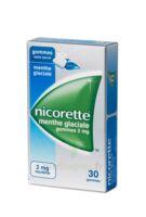 Nicorette 2 Mg Gom à Mâcher Médic Sans Sucre Menthe Glaciale Plq/30gom à TOURS