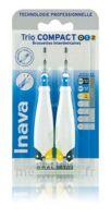 Inava Brossettes Tri Compact étroit  012 Noir 0,6mm/ Bleu 0,8mm/ Jaune 1mm à TOURS