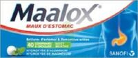 Maalox Hydroxyde D'aluminium/hydroxyde De Magnesium 400 Mg/400 Mg Cpr à Croquer Maux D'estomac Plq/40 à TOURS