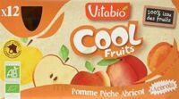 Vitabio Cool Fruits Pomme Pêche Abricot à TOURS