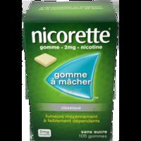 Nicorette 2 Mg Gom à Mâcher Médic Sans Sucre Menthe Fraîche Plq/105gom à TOURS