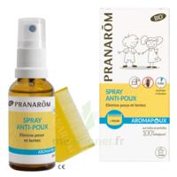 Pranarôm Aromapoux Bio Spray Anti-poux 30ml+peigne à TOURS