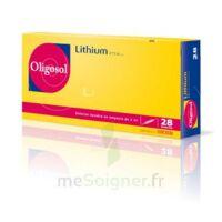 Oligosol Lithium Solution Buvable En Ampoule Ou En Récipient Unidose 28amp/2ml à TOURS