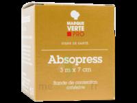 Absopress Bande Contention Cohésive 3m X 7cm – Blanc à TOURS