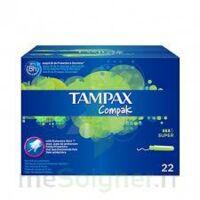 Tampax Compak - Tampon Super à TOURS