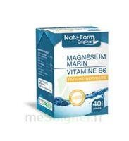 Nat&form Expert Magnésium+vitamine B6 Gélules B/40 à TOURS