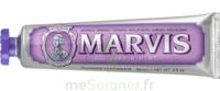 Marvis Violet Pâte Dentifrice Menthe Jasmin T/85ml