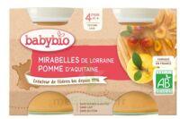 Babybio Pot Mirabelle Pomme à TOURS